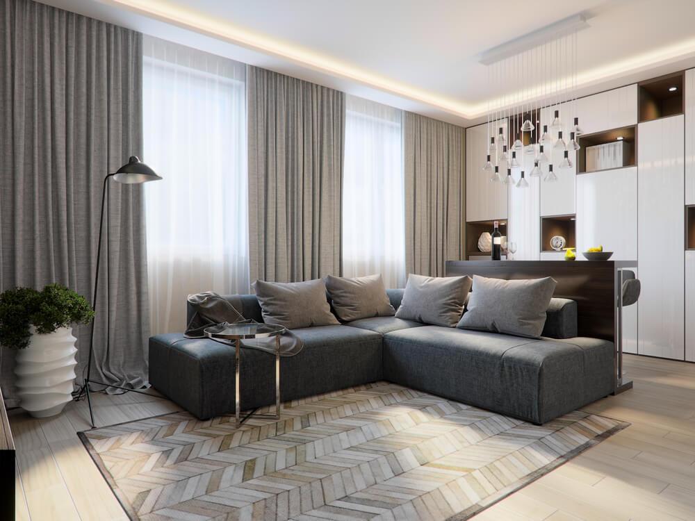 Przytulny salon jest potrzebny do zdrowego wypoczynku